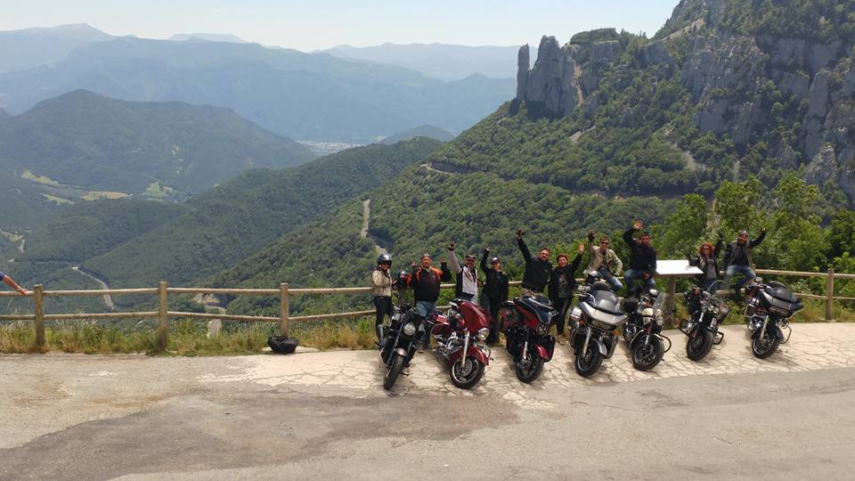 H.O.G. Sofia Chapter South European Ride 2017